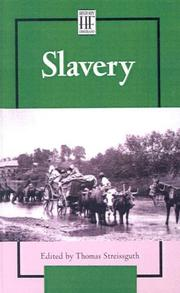 Cover of: Slavery (History Firsthand)