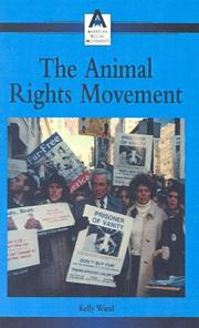 Cover of: The Animal Rights Movement (American Social Movements) | Kelly Wand