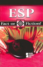 Cover of: ESP | Terry O