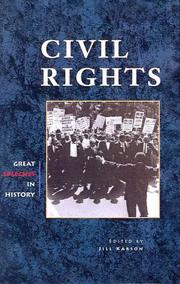 Cover of: Civil Rights (Great Speeches in History) | Jill Karson