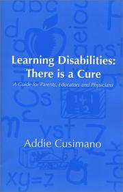 Cover of: Learning Disabilities | Addie Cusimano
