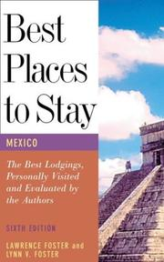 Cover of: Best places to stay in Mexico by