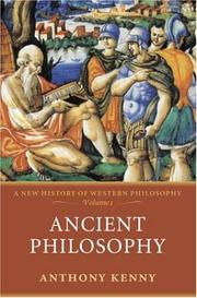 Cover of: Ancient philosophy
