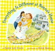 Cover of: Everything is different at Nonna's house