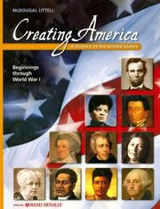 Cover of: Creating America