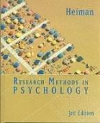 Cover of: Research Methods in Psychology | Gary Heiman