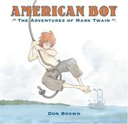 Cover of: American boy: the adventures of Mark Twain
