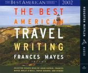 Cover of: The Best American Travel Writing 2002 (Best American)