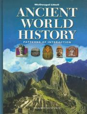 Cover of: Ancient World History