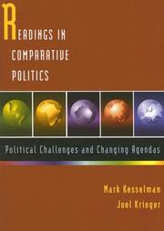 Cover of: Reading Incomparative Politics