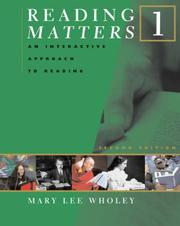 Cover of: Reading matters 1