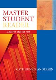Cover of: Becoming a Master Student - Concise | Catherine F. Andersen