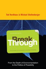 Cover of: Break Through | Michael Shellenberger