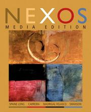 Cover of: Nexos Media Edition | Sheri Spaine Long