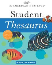 Cover of: The American Heritage Student Thesaurus | Paul Hellweg