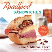 Cover of: Roadfood Sandwiches | Jane Stern