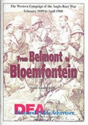 Cover of: From Belmont to Bloemfontein | Steve Lunderstedt