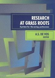 Cover of: Research at grass roots | A. S. De Vos