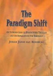 Cover of: The paradigm shift
