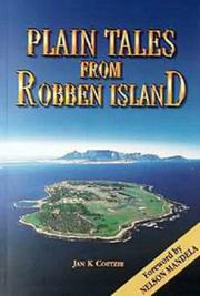 Cover of: Plain tales from Robben Island | Jan Karel Coetzee
