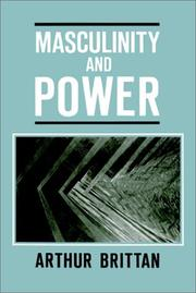 Cover of: Masculinity and power