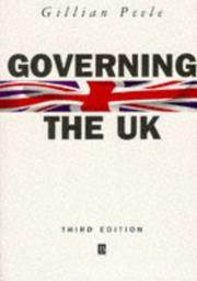 Cover of: Governing the UK