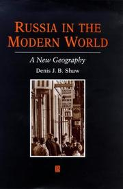 Cover of: Russia in the modern world | Denis J. B. Shaw
