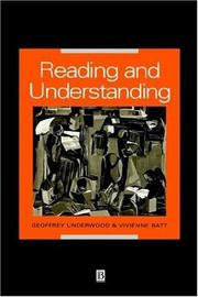 Cover of: Reading and understanding