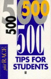 Cover of: 500 tips for students