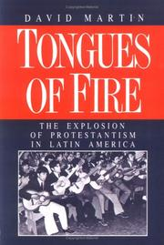 Cover of: Tongues of Fire | David Martin (undifferentiated)