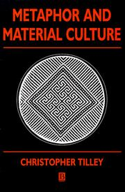 Cover of: Metaphor and material culture