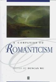 Cover of: Companion to Romanticism
