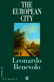 Cover of: The European City (Making of Europe)