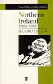 Cover of: Northern Ireland since 1968 | Arthur, Paul