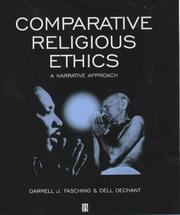 Cover of: Comparative religious ethics