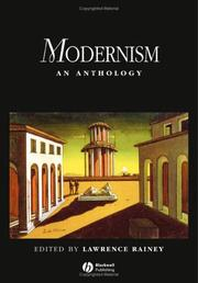 Cover of: Modernism | Lawrence Rainey