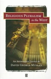 Cover of: Religious Pluralism in the West