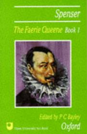 Cover of: Faerie Queene (Book 1): Edited by A.S. Collins.