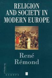 Cover of: Religion and society in modern Europe