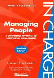 Cover of: Managing People
