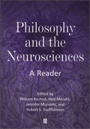 Cover of: Philosophy and the Neurosciences | William Bechtel