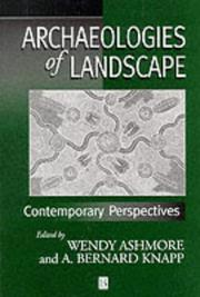 Cover of: Archaeologies of landscape