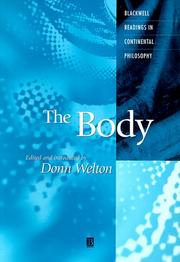 Cover of: The Body | Donn Welton