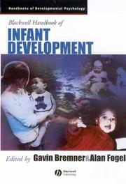 Cover of: The Blackwell Handbook of Infant Development