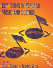 Key Terms in Popular Music and Culture (Blackwell Guides) by