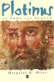Cover of: Plotinus on Body and Beauty