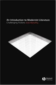 Cover of: Modernist Literature