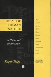 Cover of: Ideas of human nature
