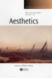 Cover of: The Blackwell Guide to Aesthetics