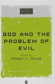 Cover of: God and the Problem of Evil